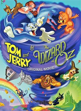 DVD cover of Tom and Jerry and The Wizard of Oz